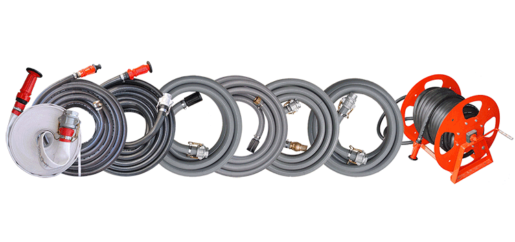 Fire Fighting and Water Transfer Hose Kits