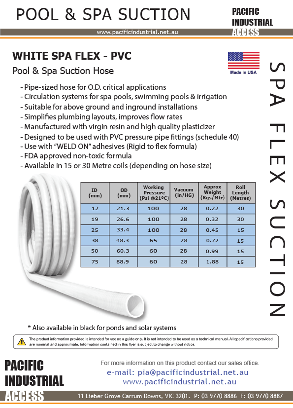 Product Information | Pacific Industrial Access