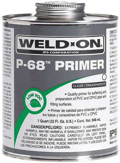 WELD ON P68 PRIMER
